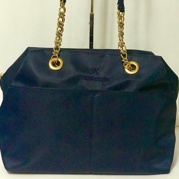 30aa43319f0f07 Hiroko Koshino Handbags - Hiroko Koshino Nylon Tote Bag